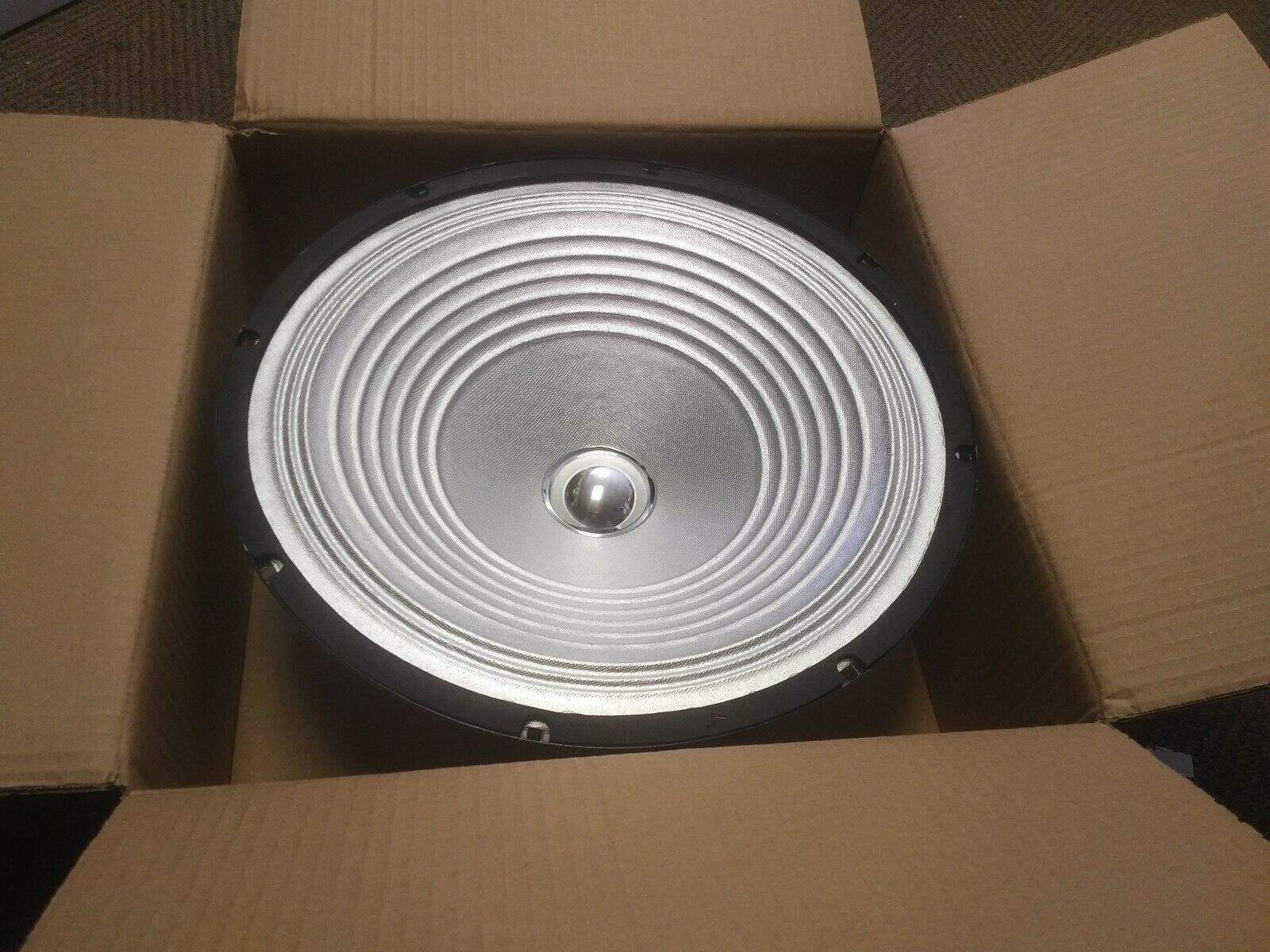 """Pair of (2)Technical Pro PW15G  15"""" 800W PA/DJ Replacement SILVER Woofer"""