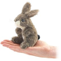 Folkmanis Mini Jack Rabbit Finger Puppet - $12.95