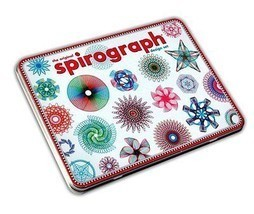 Spirograph Design Set The Original 15 Pieces Pack Kids Draw Developing Game - $17.77