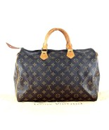 Auth Louis Vuitton Speedy 35 Monogram Canvas Leather Hand Bag Travel Bag... - $345.51