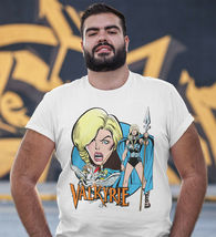 Valkyrie T shirt retro The Defenders Marvel comic book bronze age graphic tee image 3