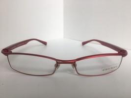 New ALAIN MIKLI AL 0698 AL0698 15 54mm Red Wire Semi-Rimless Eyeglasses ... - $290.27