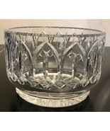 "Vintage Heavy Deep Cut  Crystal 7"" Center Bowl - $39.60"