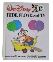 Walt Disney Fun-To-Learn Library Volume 15 Book Only Ride, Float, And Fl... - $9.79