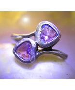 Dual hearts haunted ring thumbtall