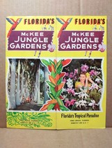 1950s McKee Jungle Gardens Travel Brochure Vero Beach Florida Attraction... - $15.00