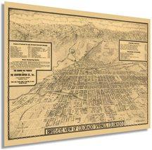 1909 Map of Colorado Springs - Vintage Map of Colorado Springs Wall Art Decor Pr - $34.99+