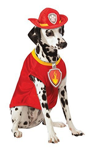(large, Marshall) - Official Rubie's Paw Patrol Marshall Pet Dog Costume, #jfj
