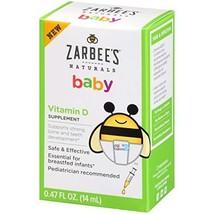 Zarbee's Naturals Baby Vitamin D Supplement, 0.47 Ounce Bottle - $12.99