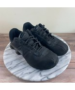 Nike Shox Deliver Athletic Sneaker Black Leather Boys Size US 2.5 / EU 34 - $39.95