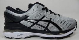Asics Gel Kayano 24 Size US 9 2E WIDE EU 42.5 Men's Running Shoes Silver T7A0N