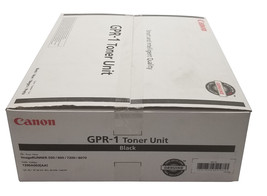 Canon GPR-1 1390A003AA Toner Unit (Pack Of 3) For 500/600/7200/8070 - $96.99