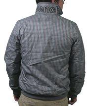 Bench UK Mens Gray Plaid Gaze Zip Up Winter Jacket with Fleece Lining NWT image 4