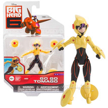 "NEW Disney Big Hero 6 Movie 4"" Tall Action Figure GO GO TOMAGO 4 Maglev Discs - $34.99"