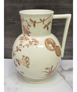 G W Turner & Sons Aesthetic Movement Brown Staffordshire Transferware Pi... - $93.06