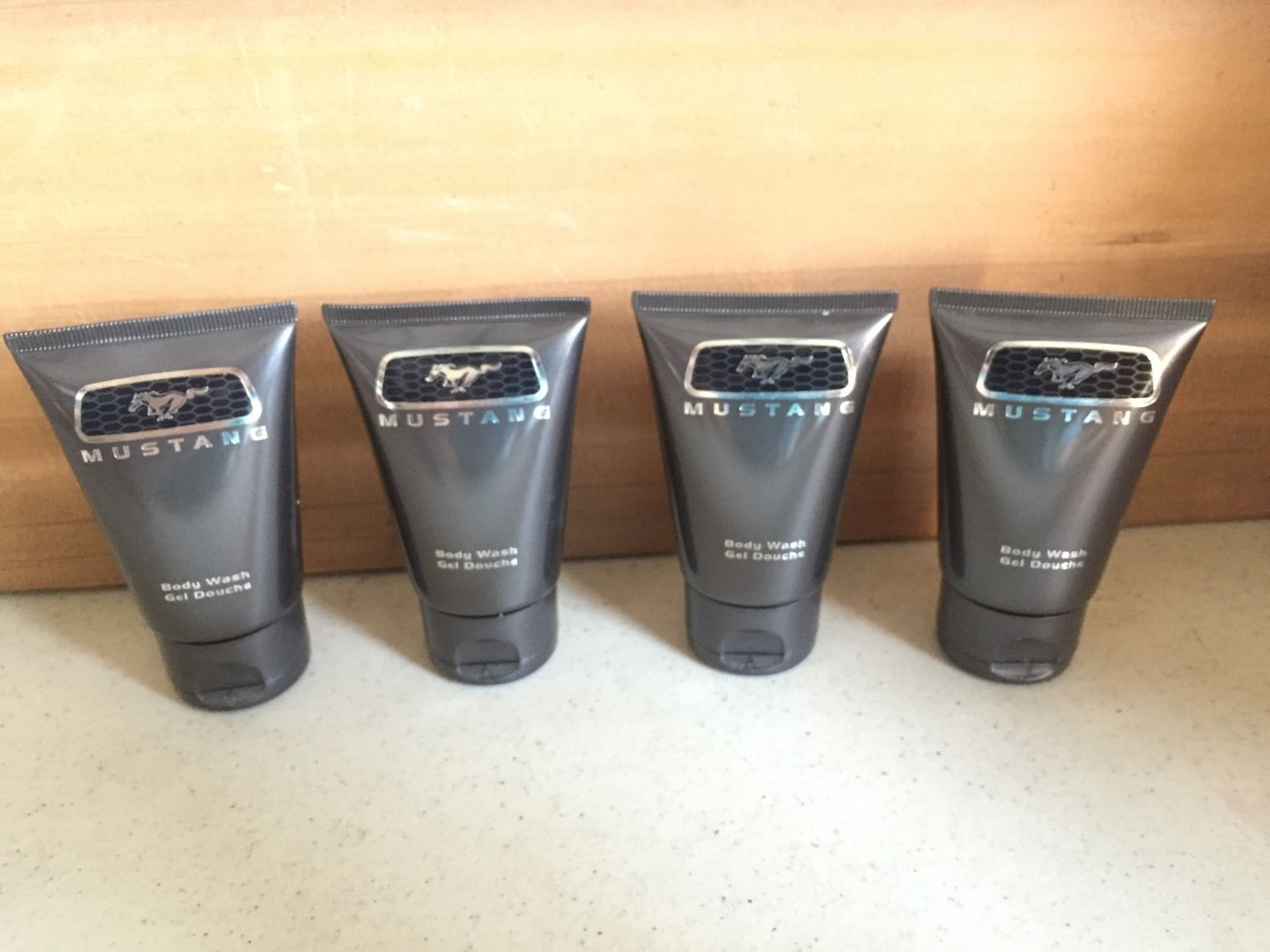 MUSTANG by Estee Lauder for MEN: BODY WASH 1.7 OZ EACH~LOT OF 4