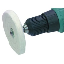 Chicago Electric Power Tools 4 in. Buffing Wheel with 1/4 In Shank - $9.90