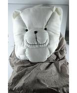 NWOT Magic Blanket White Bear Pillow and Travel Comforter Children Boys ... - $24.76