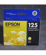 Epson T125420 125 Ink Cartridge for Stylus NX125 All-In-One Printers - Y... - $9.99