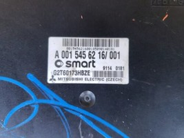 Mercedes Smart Fortwo 451 TCM ECM transmission Control Module 001-545-62-16  image 2
