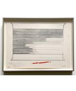 Donald Judd 1973 Signed Numbered Print Ltd. Edition Framed Dealer JKLFA.com - $3,465.00