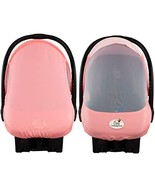 Cozy Cover Sun & Bug Cover Pink Grapefruit - The Industry Leading Infant... - $23.34