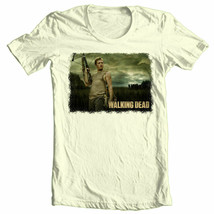 The Walking Dead Daryl T-shirt zombie TV show 100% cotton graphic printed tee image 2