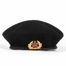 New High Quality Wool% Russian Army Berets for Men Women National Emblem... - $12.50