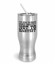 PixiDoodle Babysitter Cross Country Coach Pilsner Tumbler with Spill-Res... - $30.39
