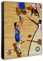 "Stephen Curry Warriors Game 4 - 2019 NBA Finals ""3"" 16x20 Photo Stretche... - $94.95"