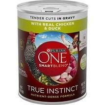 Purina ONE SmartBlend True Instinct Adult Canned Wet Dog Food 6 13 oz. Cans - $23.15