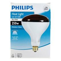 Philips 415836 Heat Lamp 250-Watt R40 Flood Light Bulb - $11.19