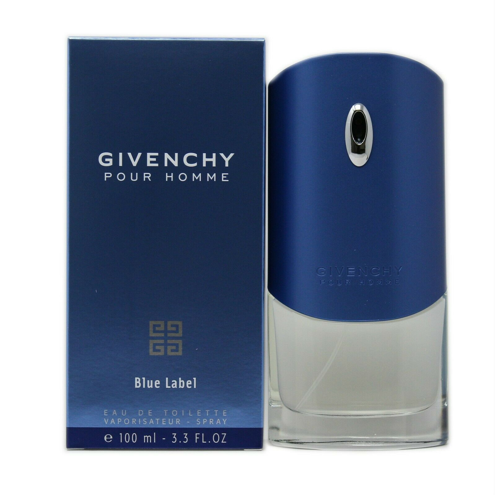 Primary image for GIVENCHY POUR HOMME BLUE LABEL EAU DE TOILETTE SPRAY 100 ML/3.3 FL.OZ. NIB