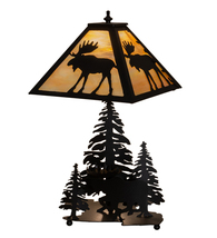 "21"" High Moose on the Loose Table Lamp - $660.00"