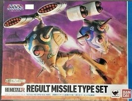 Macross Robotech: HI-METAL R Regult Missile Type Set - Bandai Japan - $519.70