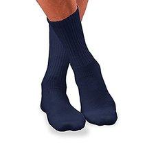 Jobst 110847 SensiFoot 8-15 mmHg Unisex Crew Length Diabetic Mild Support Socks  - $12.29