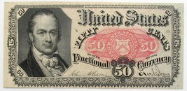 US 50-cent Fractional Currency Bill- Fifth Series- Uncirculated Antique - $169.95