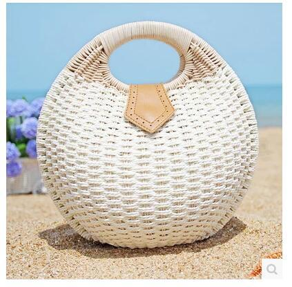 Handbag Summer Beach Bags Small Bag Woman Straw Bags Womens Handbag Rattan Bag
