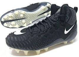 Nike Force Savage Pro TD Black/White Men's Football Cleats Size 12 (9183... - $59.99