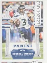 2017 Panini Russell Wilson QB Seattle Seahawks #87 192727 - $1.86