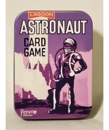 Astronaut Card Game Pepys Space Travel Storage Tin Lagoon Reproduction S... - $6.91
