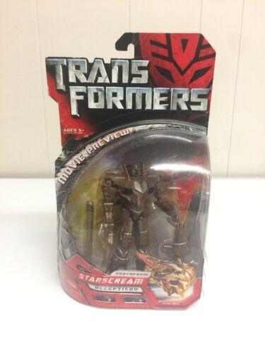 Transformers 2007 Movie Preview starscream Decepticon New In Package age 5+