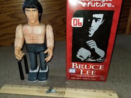Rare Medicom Toy Nostalgic Future Bruce Lee Wind Up Tin Toy Made in Japa... - $150.00