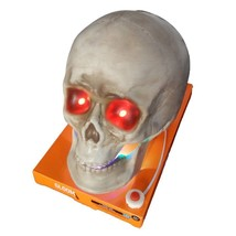 Halloween Animated Light Up Skull w/ Moving Mouth and Spooky Halloween S... - €17,66 EUR