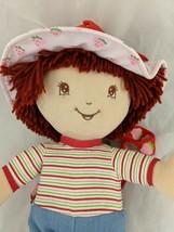 "Strawberry Shortcake Plush Doll Backpack Coin Purse 14"" 2004 TCFC Stuffe... - $9.95"