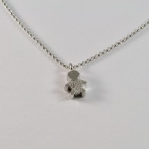 Silver Necklace 925 Jack&co with child with Zircon Cubic White JCN0616 image 2
