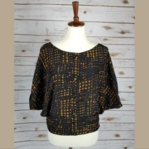 New IMAGINE size S womens cape bat sleeves blouse top - $10.89