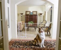 Carlson Extra Tall Maxi Walk-Thru Gate with Pet Door - $89.99