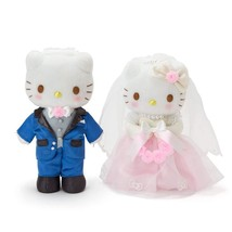 Hello Kitty & Dear Daniel Plush Doll Wedding Sanrio Kawaii 2018 NEW Japa... - $128.99