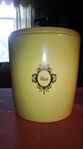 Westbend Harvest Gold Flour Canister with bonus tea canister - $10.00
